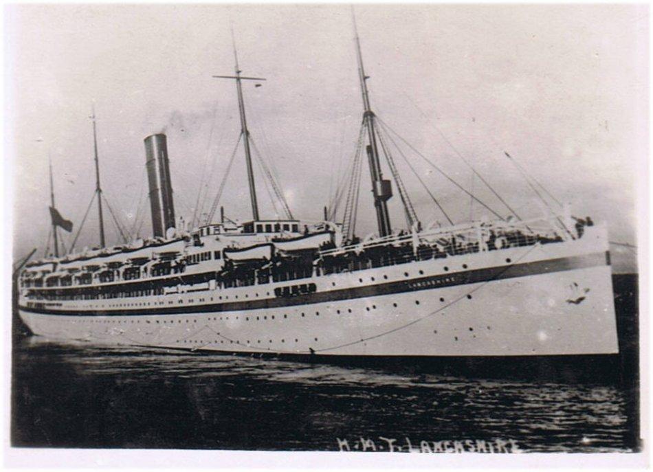 H.M.T. Lancashire