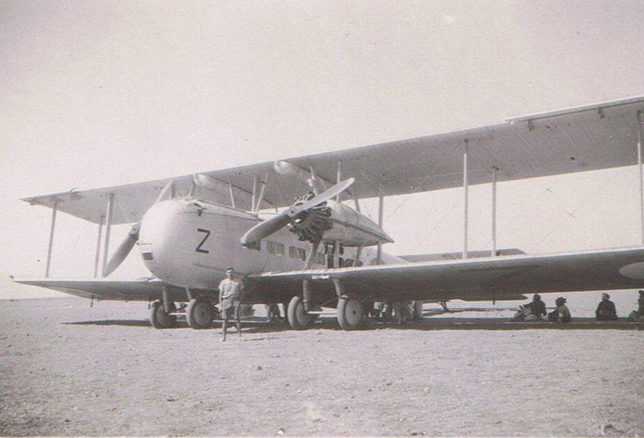 RAF Vickers Valentia Z