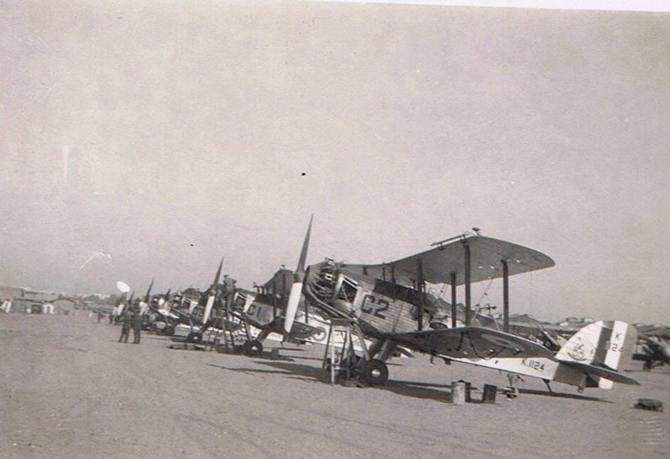 Westland Wapitis, Iraq, 1930s