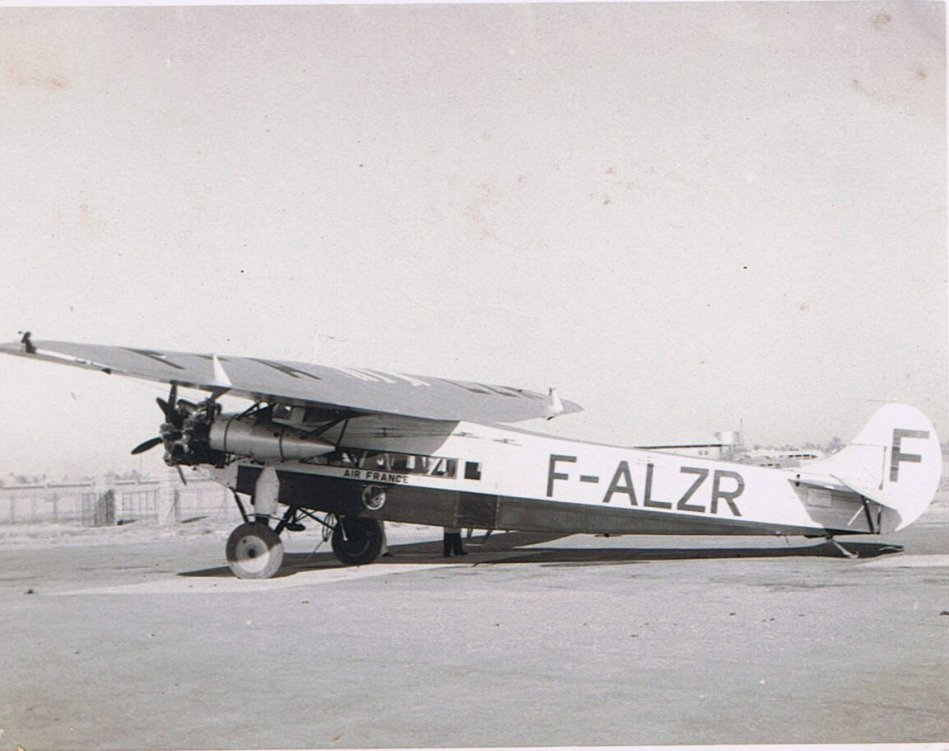 Air France Trimotor F-ALZR