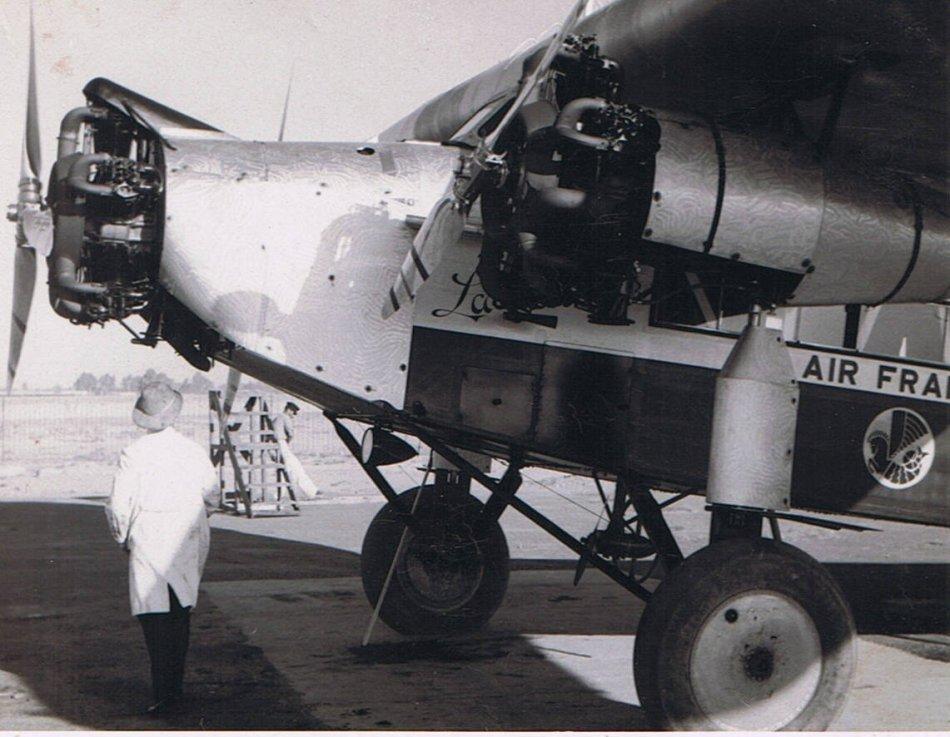 Air France Trimotor F-ALZR