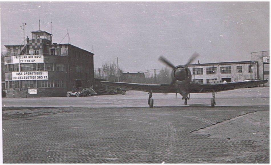 Hawker Tempest of 33 Squadron