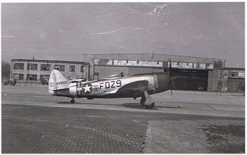 Fritzlar - P-47 Thunderbolt of 27th Fighter Group