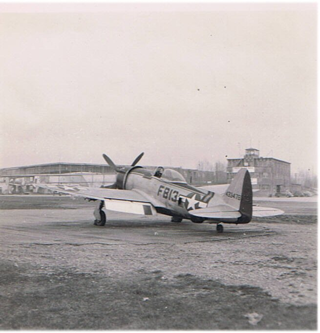 Fritzlar – P-47 Thunderbolt of 27th Fighter Group
