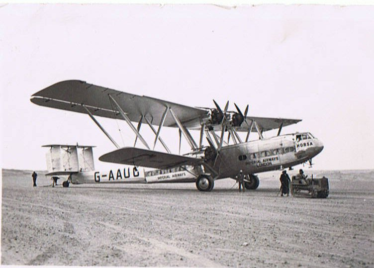 "Handley Page HP42 G-AAUC ""Horsa"""