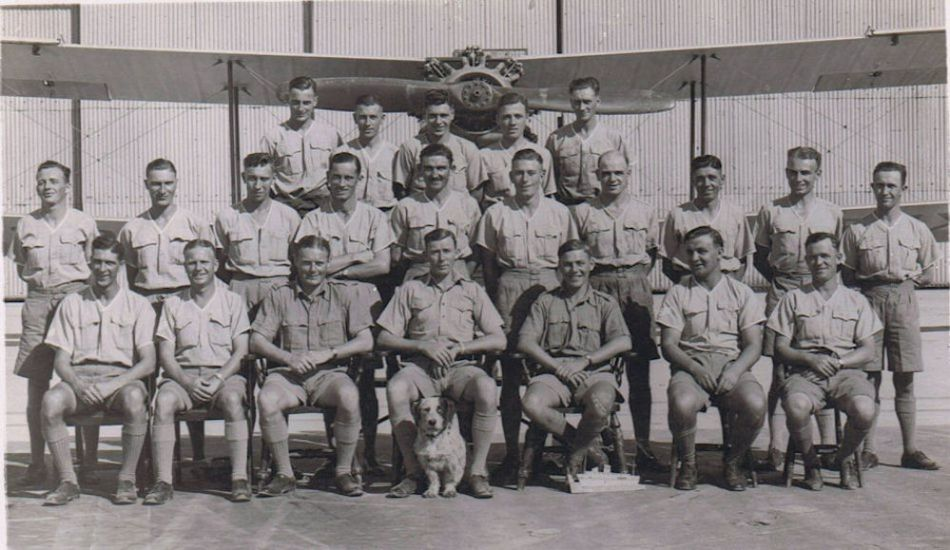 RAF 55b Squadron Hinaidi Iraq