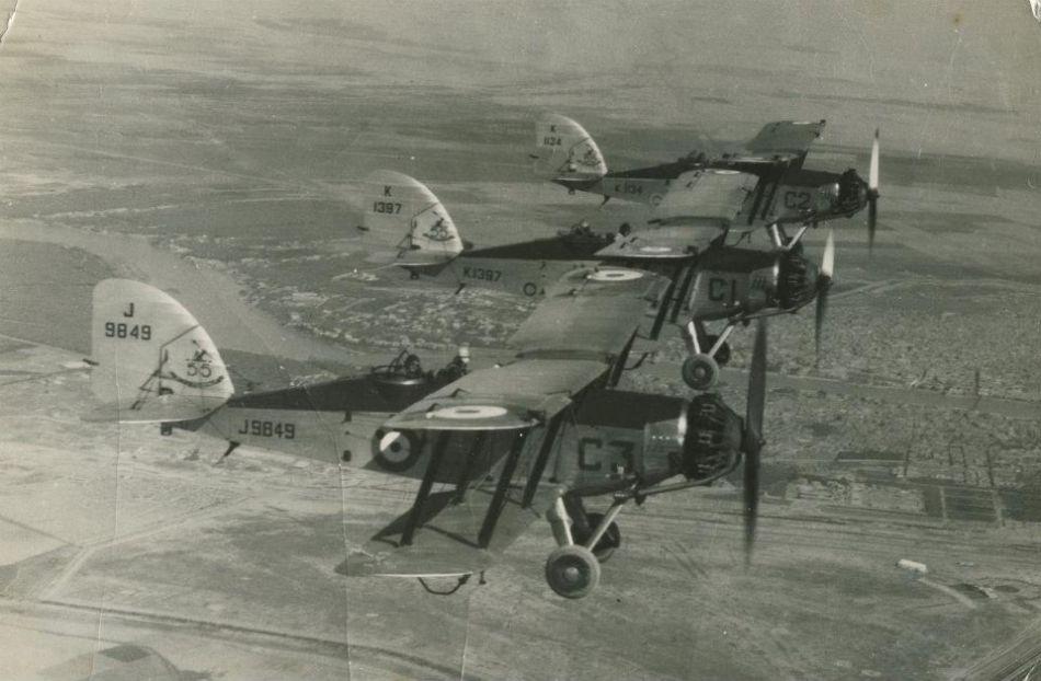 Wapitis RAF Hinaidia 1937