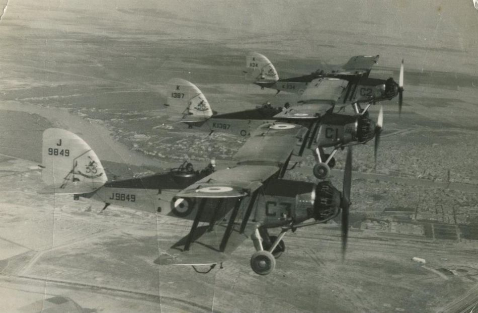Wapitis from RAF Hinaidia, Iraq, 1937